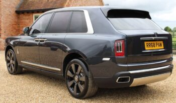 SOLD- 2018 Grey Rolls-Royce Cullinan 6.75 V12 Auto 4WD 5dr full