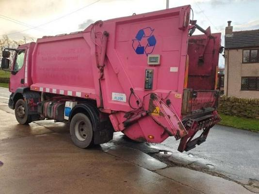 SOLD- 2007 DAF LF55.220 REFUSE TRUCK – GEESINK NORBA -TRADE LIFT full