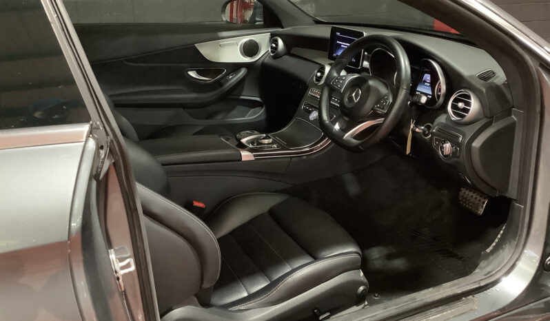 SOLD- MERCEDES-BENZ C220 D 2.1 AMG LINE Coupe full