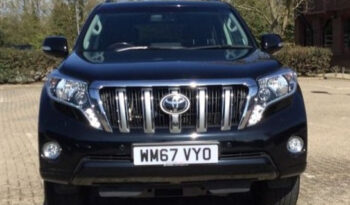 Toyota Land Cruiser 2018 (67 reg) full
